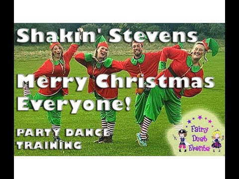 Shakin' Stevens Merry Christmas Everyone - party dance training