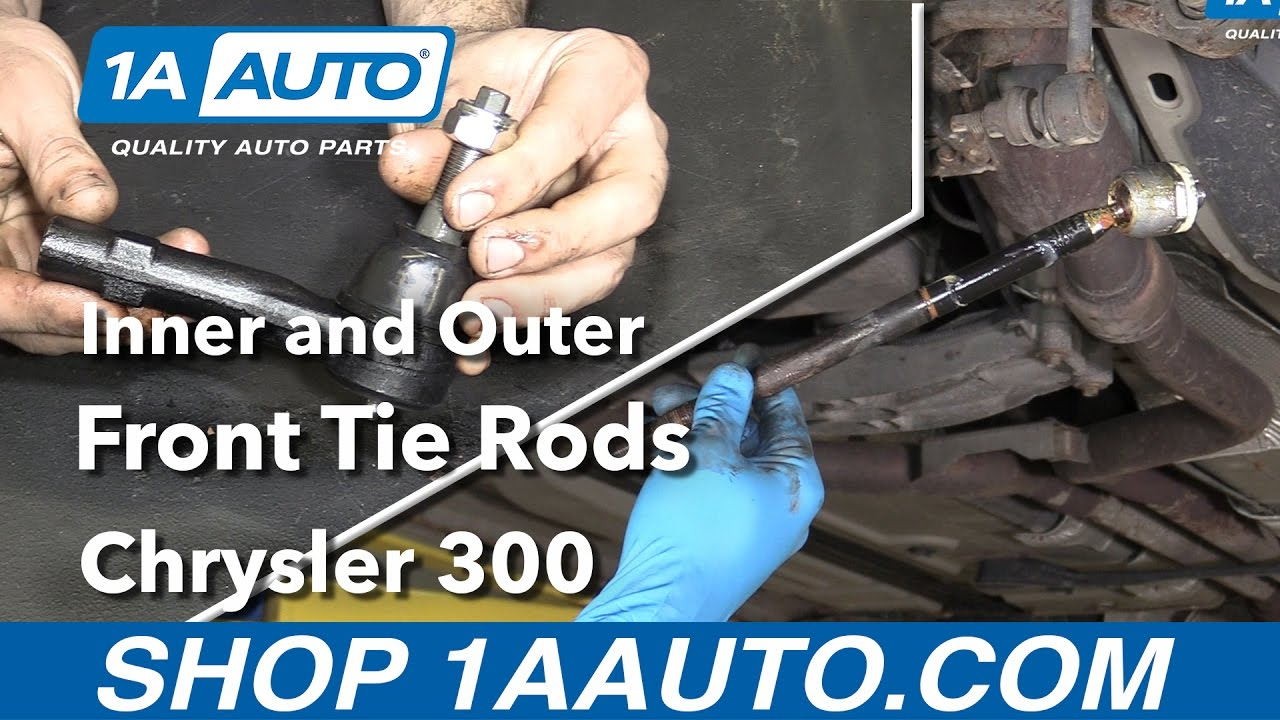 Outer Tie Rod >> How to Replace Inner & Outer Tie Rods 05-10 Chrysler 300 ...