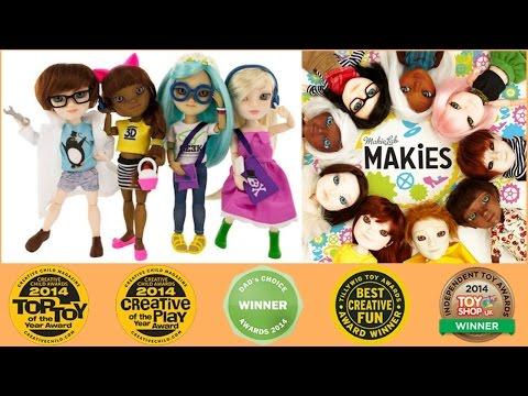 Review - Site Makies (Bonecas impressas 3D)