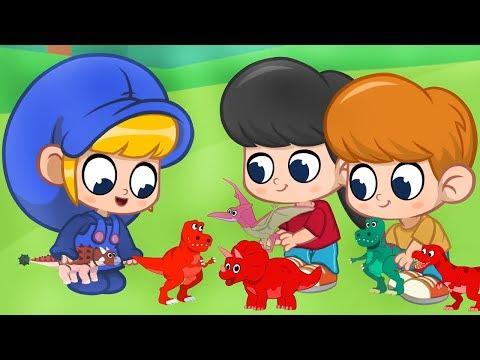 Morphle en Español   Morphle y los dinosaurios de juguete   Nuevo Episodio   Caricaturas para Niños