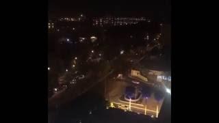 بغداد ليلا من الاعلى الشوارع والناس روعة