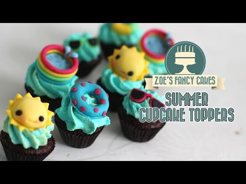 summer-cupcake-ideas:-how-to-make-sunny-summer-cake-toppers