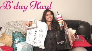 Huge B'day Haul: Benefit , Forever New, Shein , Kate Spade, Decorkart, | Priyanka Boppana