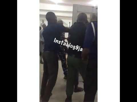 First Bank Security Men Assault Customer Inside Banking Hall (Watch Video)