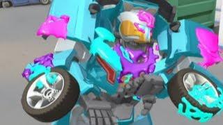 Тоботы новые серии -1 Серия 2 сезон - мультики про роботов трансформеров [HD]