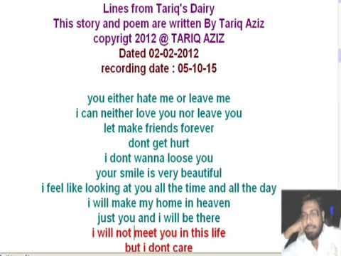best poem and story of the month with moral lesson five by tariq aziz
