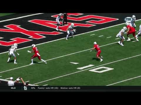 Texas Tech Football Vs. Montana State: Highlights   2019
