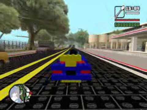 GTA-SA Lego World 1.0 / 2.0 - YouTube