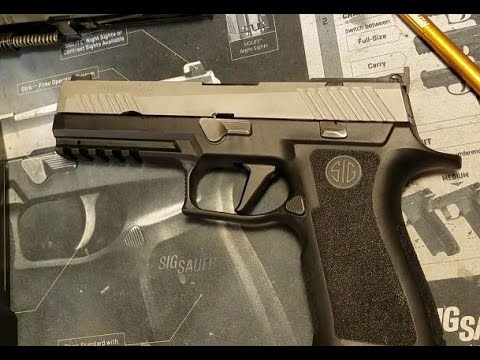 SIG P320 X5 Grip - First Look and Magazine Compatability