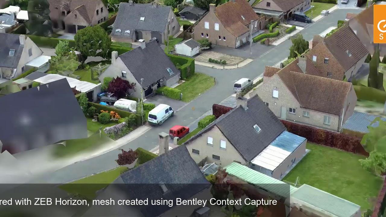 ZEB Horizon UAV - Reality Mesh