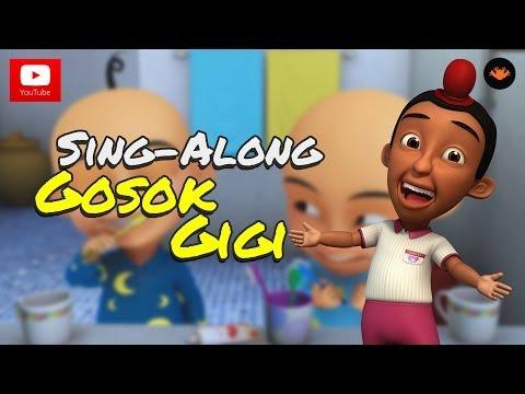 Upin & Ipin - Lagu Gosok Gigi [Sing-Along]