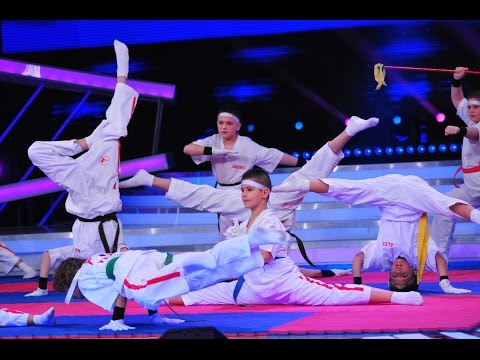 Demonstrație de karate. Vezi prestația copiilor de la Akikai Kids, pe scena Next Star