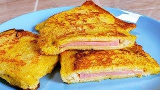 ЭТО ТОЧНО ПОНРАВИТСЯ ВСЕМ Супер Бутерброд на ОБЕД или ЗАВТРАК