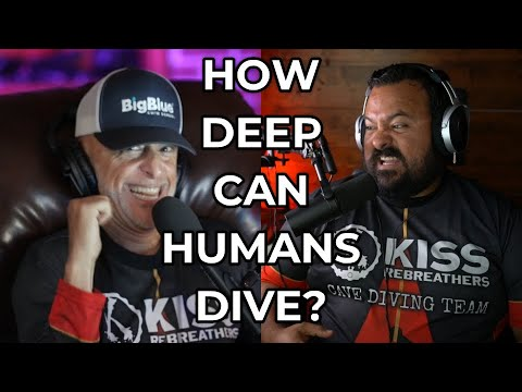 HOW DEEP CAN HUMANS DIVE?