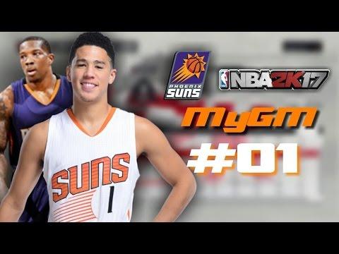 RE-BUILDING THE PHOENIX SUNS! // NBA 2K17 MyGM (Episode 1)