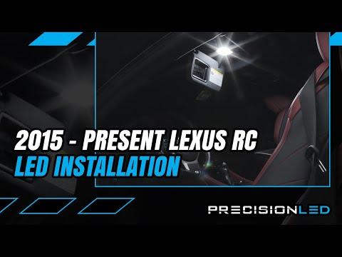 Lexus RC LED Interior