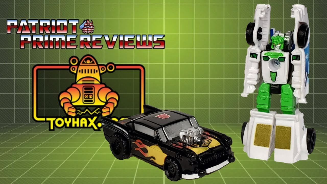 Toyhax Decal Set for Earthrise Hot Rod Patrol By Patriot Prime Reviews