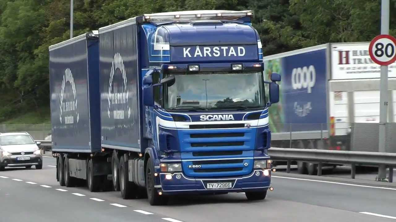Video With Different Scania Trucks 3 - YouTube