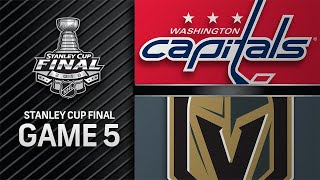 Capitals win Game 5 to secure first Stanley Cup title