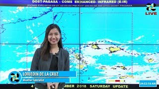 Public Weather Forecast Issued at 5:00 AM September 22, 2018