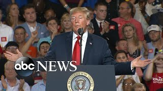 Trump doubles down on immigration stance and draws support at South Carolina rally