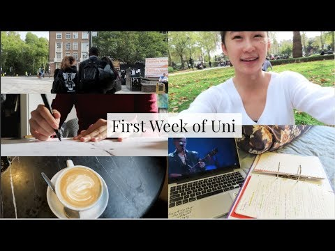 First Week Of Uni // UCL Laws