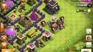Clash of clans builder's hut trick