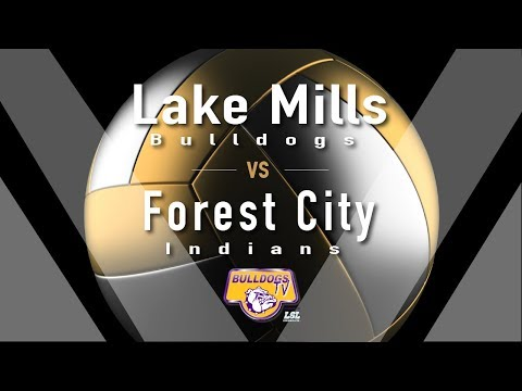 Lake Mills High School Volleyball vs Forest City