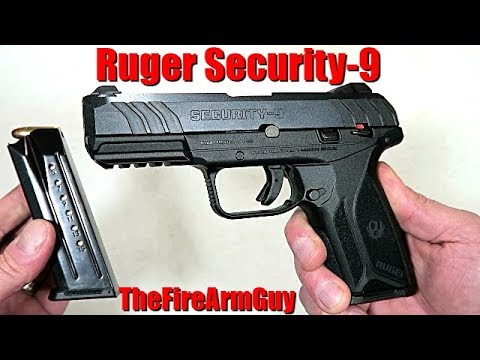 NEW Ruger Security-9 (Budget 9mm Handgun) - TheFireArmGuy