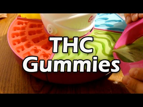Ganja Gummy Factory! (THC Candy!!)