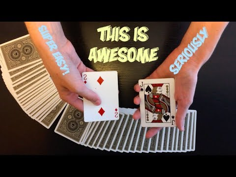Thumbnail: Super Easy Yet POWERFUL Card Trick Performance And Tutorial!