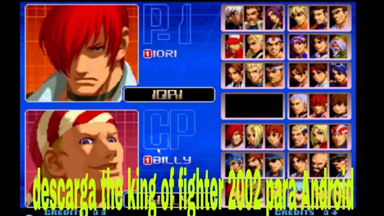 como descargar the king of fighters 2002 para android sin emulador