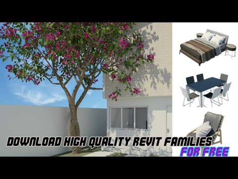Revit Architecture | Download High Quality Revit Families For Free