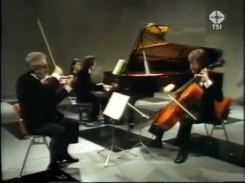 Trio di Milano - J. Brahms: Trio per pianoforte, violino e violoncello n.2 op.87 in DO magg