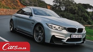BMW M4 - M Performance Parts Test Drive