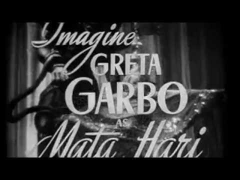 MGM's MATA HARI (1931) Greta Garbo, Ramon Novarro and Lionel Barrymore (Trailer)