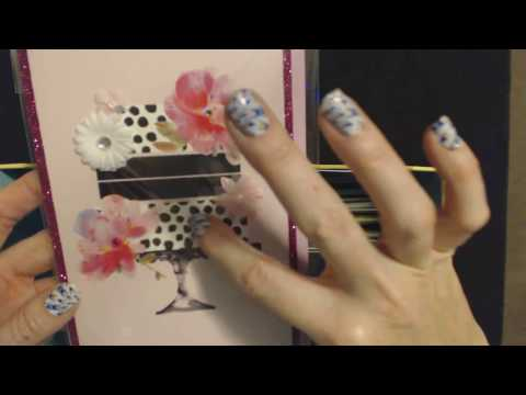 ASMR Soft Spoken + Gum Chewing ~ Greeting Card Show & Tell