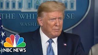 Trump: Economy 'May Be' Heading Toward Recession Due To Coronavirus   NBC News
