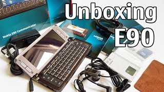 nokia E90 Communicator Unboxing 4K with all original accessories RA-6 review