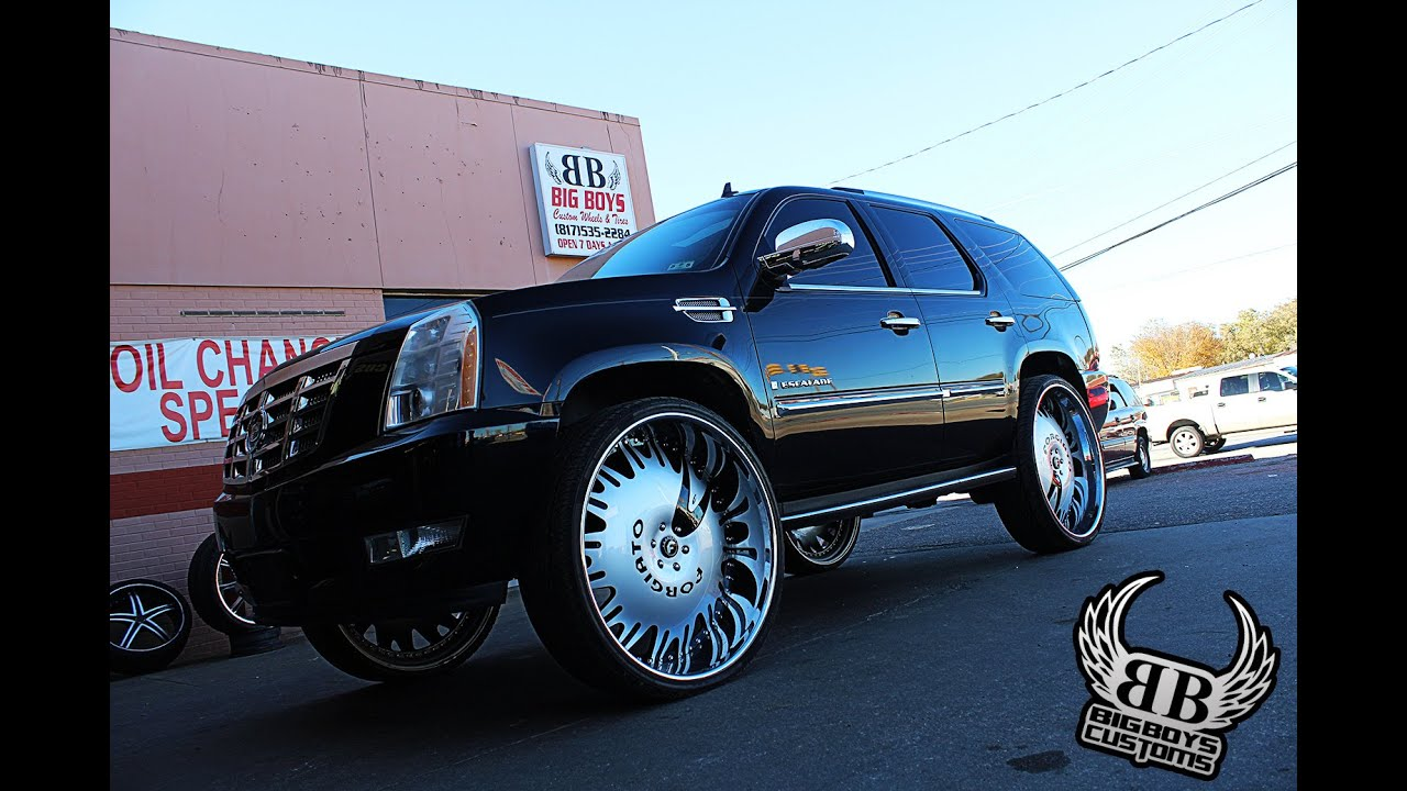"Cadillac Escalade on 32"" Forgiato Enzo done by Big Boys ..."