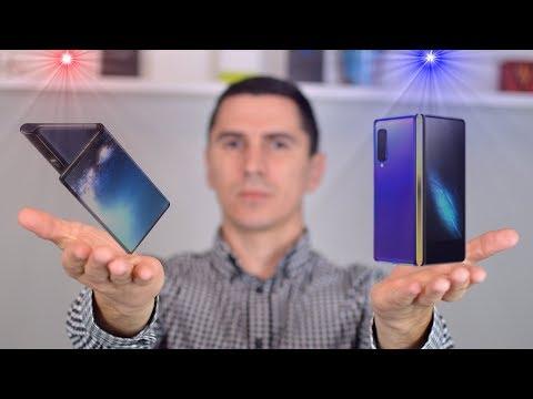 Tko ima BOLJU IDEJU? Samsung Galaxy Fold vs Huawei Mate X!