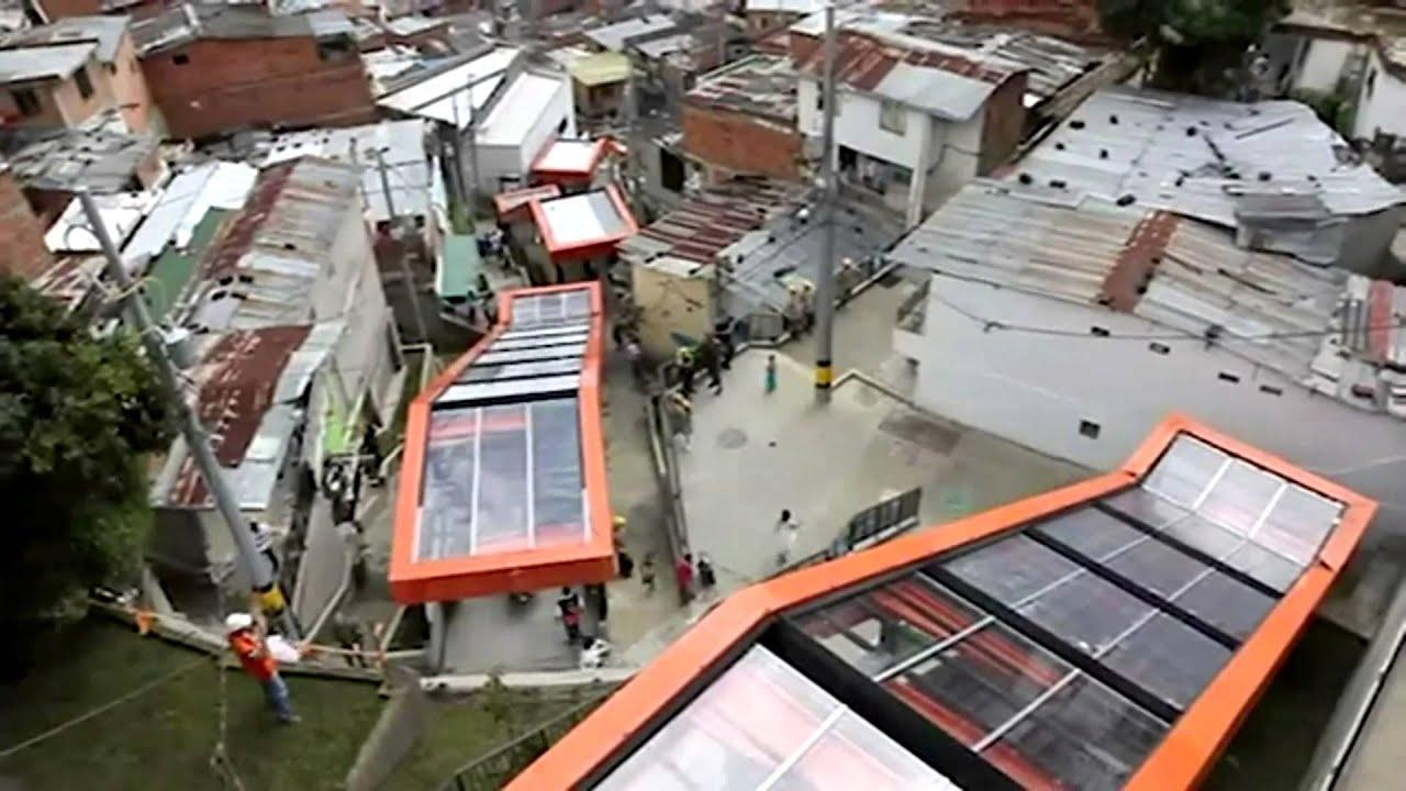 Medellin escaleras electricas youtube for Escaleras retractiles