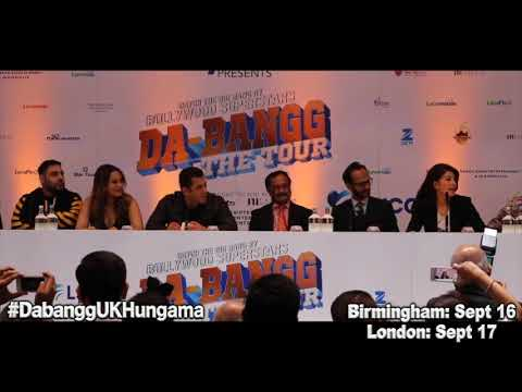 Dabangg Tour UK Press Conference in London | FULL video