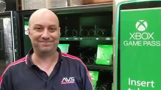Custom Vending Machine: Microsoft XBOX Game Pass