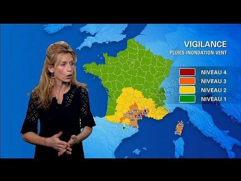 Intempéries: l'Hérault placé en vigilance rouge par Météo France