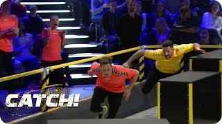 Match 4: Obstacle Race - Teil 3 - CATCH! Die Deutsche Meisterschaft im Fangen