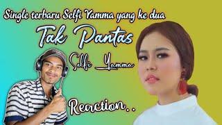 Gambar cover Selfi Yamma LIDA - Tak Pantas - Official Music Video - ( REACTION )