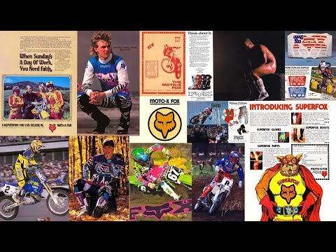 Fox Racing Motocross Gear History 1974-2000