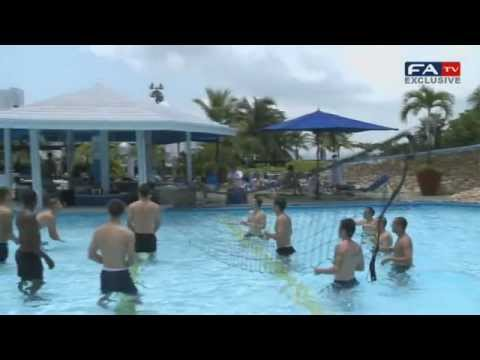 Pool Tennis | England U20 World Cup Colombia 2011