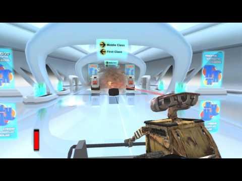 "Wall-E Gameplay Walkthrough Chapter 12 - ""Clean Getaway"" [60 FPS / 1080p]"